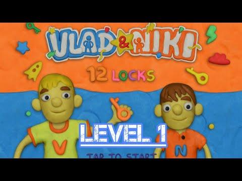 Vlad & Niki 12 Locks Level 1 Walkthrough (By RUD Present)