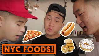 7 CLASSIC NEW YORK FOODS! | Fung Bros