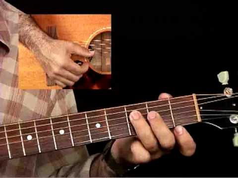How to Play Acoustic Guitar – Lessons for Beginners – Strumming Chords Pt. 1