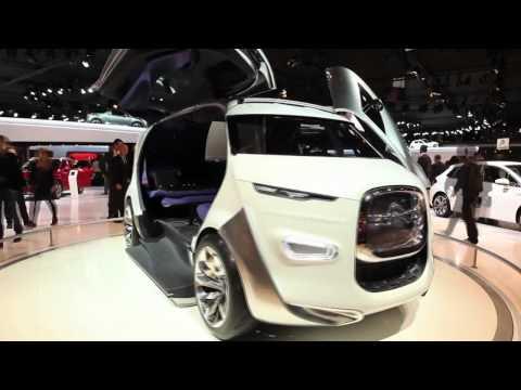 New Citroen Tubik concept sneak preview – Paris Motor Show 2012