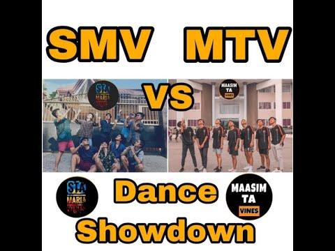 SMV AND MTV DANCE SHOW DOWN  ( JUST FOR FUN IDOL MAASIM TA VINES )