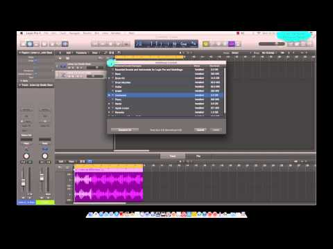 Logic Pro X – Additional Content Download