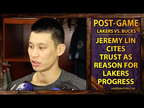 Video: Jeremy Lin Credits Trust As Reason For Lakers Progress