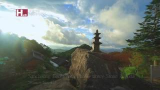 Sancheong-gun South Korea  city images : [TV ZONE] A heavenly pagoda over the clouds Sancheong Beobgyesa Three-storey Stone Pagoda