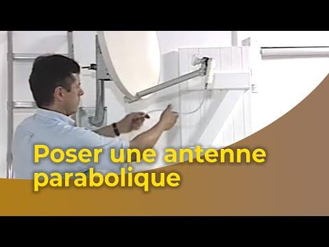 pointage parabole - Cette vidéo vous apprend à poser votre antenne parabolique et à la relier à votre téléviseur et à un démodulateur via un câble coaxial. Vous apprendrez à bie...