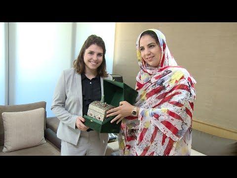 Le secteur privé maroco-américain au coeur des entretiens entre Mme derham et Maddison Abboud