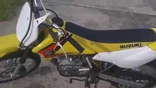 8. 2005 Suzuki DR-Z 125 L
