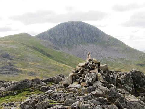 Great Gable via Green Gable from Honister Slate Mine round | cumbria  Walks