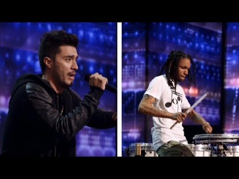 America's Got Talent 2020 Rapping Impressions And Mad Drumming Skills Auditions Week 1