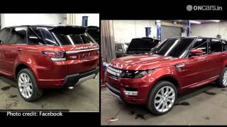 2014 Range Rover Sport Uncovered Days Before Launch