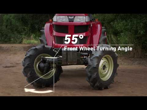 Yanmar EF393T 4-Wheel-Drive Tractor