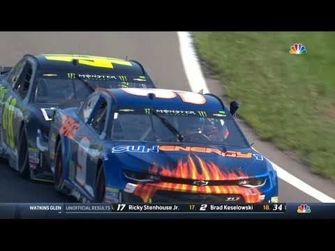 Chase Elliott's First Career Cup Win (2018 Watkins Glen) (видео)
