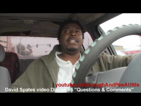 Questions & Comments 📕 David Spates Video Diary #5