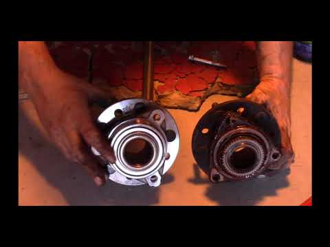 Replacing Front Wheel Brearings On Chrysler 300m (and Similar Cars) Part Two