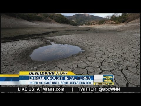 drought - Gov. Jerry Brown warns Californians to reduce their water usage by 20 percent. *MORE:
