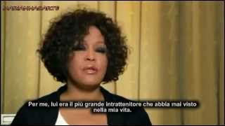 Whitney Houston dated Michael Jackson. He was not gay (Sub Italiano)