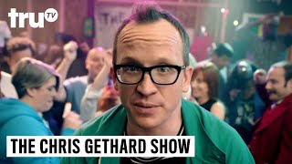 Love chaos, comedy and live late night television? Then get ready for The Chris Gethard Show coming to truTV.SUBSCRIBE to get the latest truTV content: http://bit.ly/truTVSubscribeCheck out videos from Impractical Jokers: http://bit.ly/IJTruTVCheck out videos from Billy On The Street: http://bit.ly/BillyOnTheStreetCheck out videos from Adam Ruins Everything: http://bit.ly/ARETruTVCheck out videos from The Carbonaro Effect: http://bit.ly/TheCarbonaroEffectCheck out videos from Comedy Knockout: http://bit.ly/ComedyKnockoutCheck out videos from Hack My Life: Inside Hacks: http://bit.ly/HackMyLifeCheck out videos from Talk Show The Game Show: http://bit.ly/TalkShowTheGameShowCheck out videos from Upscale with Prentice Penny: http://bit.ly/UpscaleWithPrenticePennySee more from truTV: http://bit.ly/FunnyBecauseItsTRULike truTV on Facebook: http://bit.ly/truTVFacebookFollow truTV on Twitter: http://bit.ly/truTVTweetsFollow truTV on Instagram: http://bit.ly/truTVInstaAbout truTV:Seen across multiple platforms in 90 million households, truTV delivers a fresh and unexpected take on comedy with such popular original series as Impractical Jokers, Billy on the Street, The Carbonaro Effect, Adam Ruins Everything, Hack My Life and Fameless, as well as the original scripted comedy Those Who Can't. The fun doesn't stop there. truTV is also a partner in airing the NCAA Division I Men's Basketball Championship.The Chris Gethard Show - Season 1 Promo  truTVhttp://bit.ly/truTVSubscribe