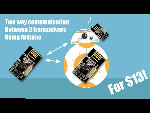 Two way communication on the cheap