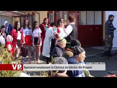 Spectacol emoționant la Căminul de bătrâni din Plopeni
