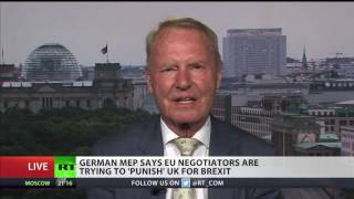 German MEP Hans-Olaf Henkel says EU negotiators are trying to 'punish' UK for #Brexit. Like what you see? Please subscribe...