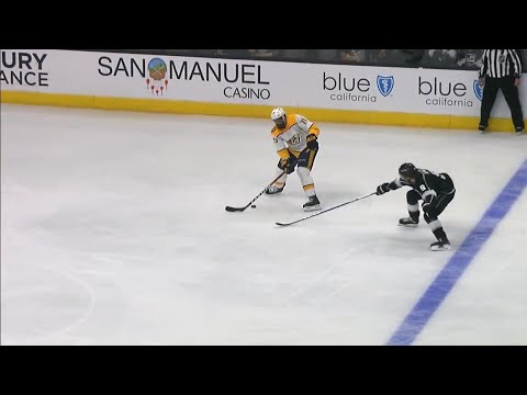 Video: Kings on the board thanks to horrible Subban turnover
