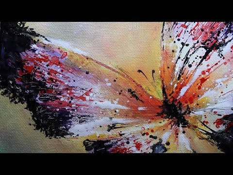 Art Videos, How to Paint a Butterfly