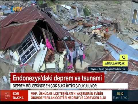 Endonezya'daki deprem ve tsunamide bölgede son durum