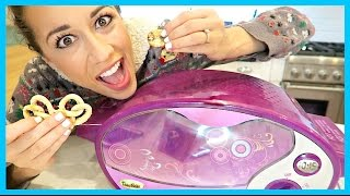 This was soooo fun!!! I always wanted to use an easy bake oven as a kid, so I'm basically fulfilling all of my childhood dreams today. Subscribe to Kory - ht...