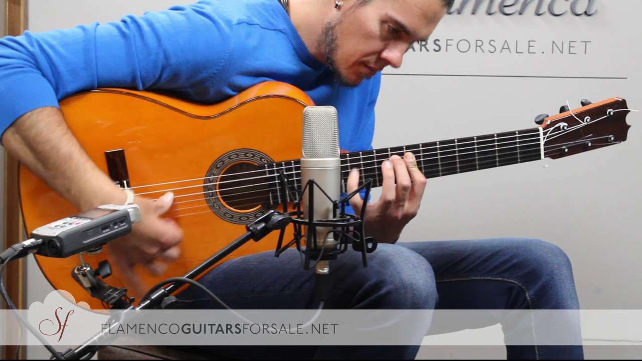 "VIDEO TEST: Felipe Conde 2018 Reed. ""Pepe Habichuela"" nº3 flamenco guitar for sale"