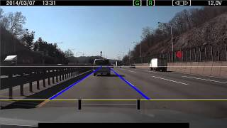 video thumbnail LDWS(Lane Departure Warning System) Dashcam  youtube