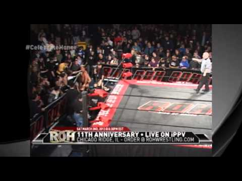 roh - 6th Anniversary - New York, NY 2/23/08 ROH World Championship Nigel McGuinness vs Bryan Danielson Visit here to find out when ROH airs in your area http://ww...