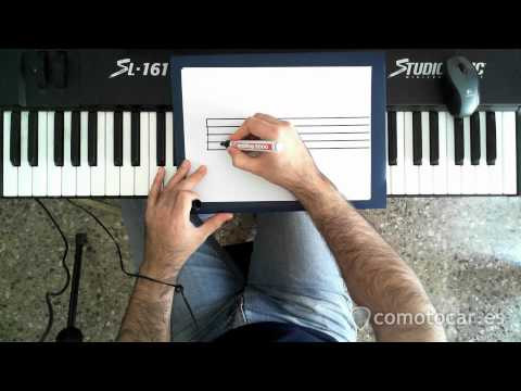 comotocar.es - Como tocar el piano - 18 - Acordes de Let It Be