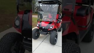 9. Custom Yamaha golf cart