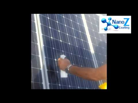 Nano Glass for solar pannels by Nano Z Coating