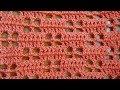 Window Pane Crochet Stitch - Right Handed Crochet Tutorial - Filet Crochet