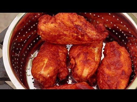 Best Fried Chicken Breast Recipe - Juicy Deep Fried Chicken (видео)