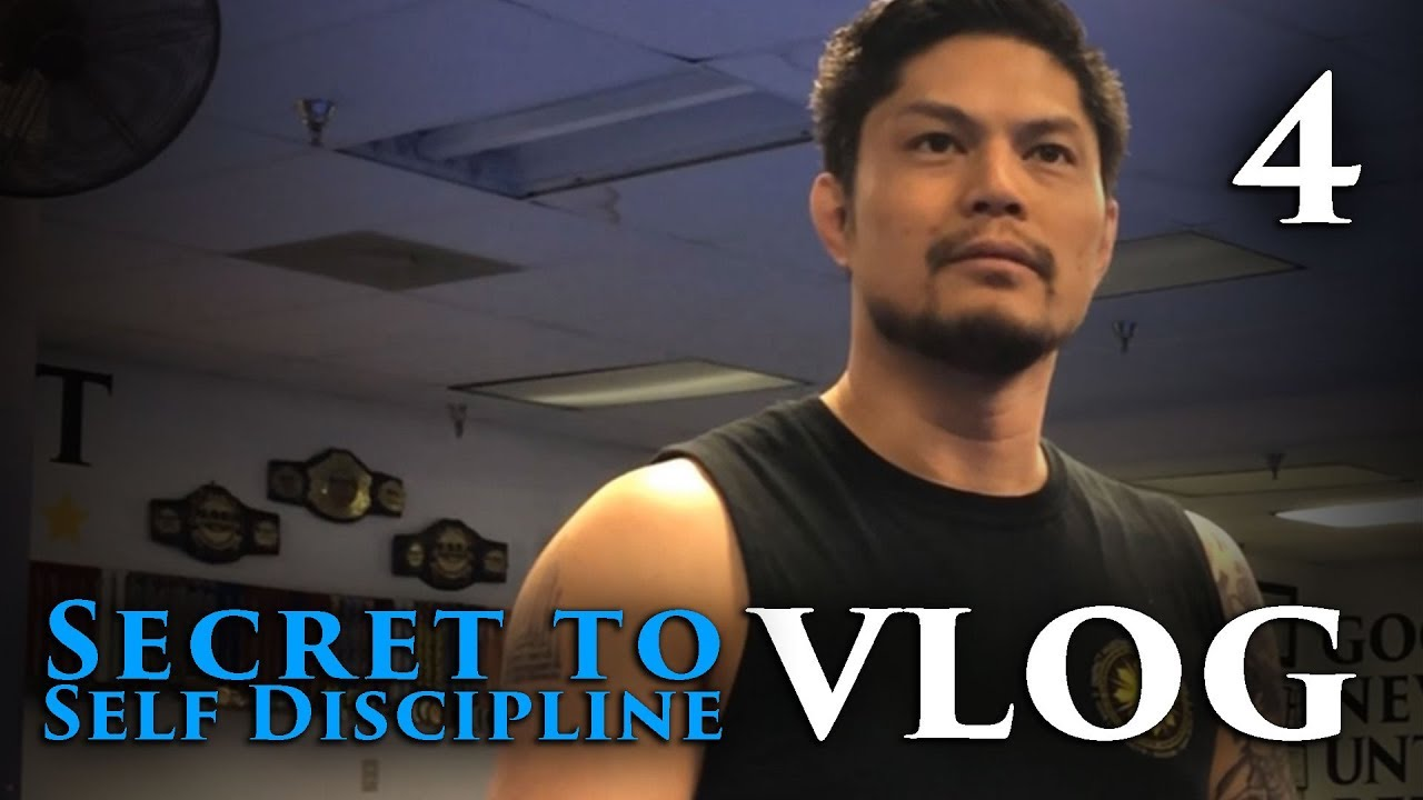 vlog 4: Secret to Self Discipline