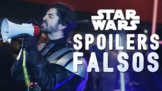 Video FAKE STAR WARS SPOILERS | Force Awakens Premiere MP3, 3GP, MP4, WEBM, AVI, FLV Juni 2018