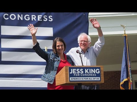Jess King Rides Bernie's Endorsement To VICTORY!
