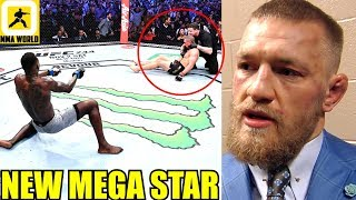 Conor McGregor Reacts to Israel Adesanya's Incredible Knock Out win over Whittaker,Paulo Costa