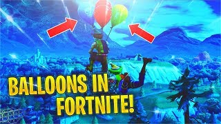 Reacting to *NEW* Balloons Item TRAILER + Patch Notes! (Fortnite v6.21)