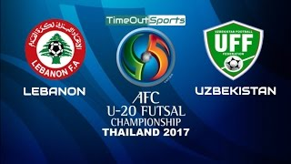 Video Lebanon vs Uzbekistan (4-4) Goals | AFC U-20 Futsal Championship 2017 MP3, 3GP, MP4, WEBM, AVI, FLV Juli 2017