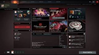 Dota 2 International 2016 Menu Theme