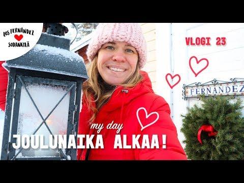 VALMISTAUDUTAAN JOULUUN SODANKYLÄSSÄ 🎅🏼 MY DAY! #vaihtovuosisodankylässä vlo… видео