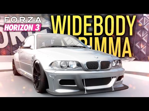 ROCKET BUNNY BMW E46 M3?!   Forza Horizon 3 Let's Play #2