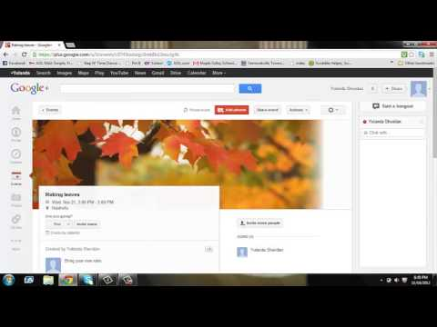 google plus project - This is a tutorial on how to use Google+.
