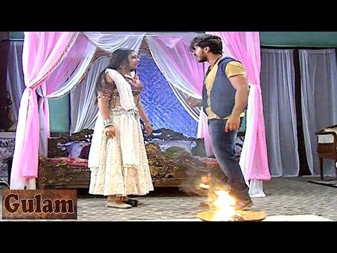 Rangeela ANGRY on Shivani on Ghulaam 28th April 20