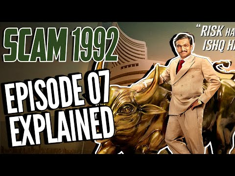 SCAM 1992 Episode 7 full Explained || The Harshad Mehta story || Sony Liv || Movie Narco
