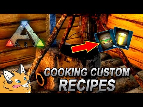 How To Cook Your Own Custom Recipes! - ARK Survival Evolved