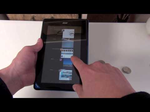 Acer Iconia Tab B1 review